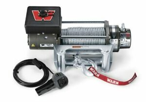 Warn 26502 M8000 Series Electric 12v Winch With Steel Cable Wire Rope