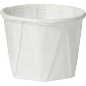 Solo Souffle Cup 5 Oz Case Of 5 000 White Paper food Meds Condiments Etc