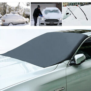 Universal Magnetic Car Windshield Cover Protector Snow Ice Frost Guard Sun Shade