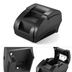 Usb 58mm Mini Thermal Dot Receipt Printer Pos Cash Drawer Retail Printing F5i9