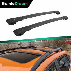 Cross Bars Roof Rack Rail Fit For Subaru Xv Crosstrek 2018 2021 Luggage Baggage
