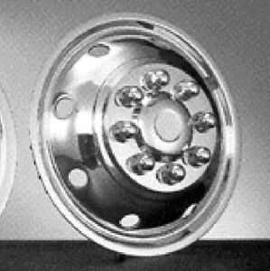 Ford 16 8 Lug Motorhome Hubcaps Rv Simulator Snap On F350 E 350 E450 Front New