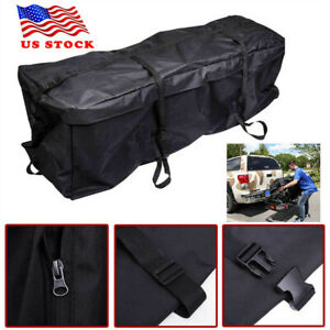 Waterproof Car Roof Top Rack Bag Carrier Cargo Luggage Storage Trave