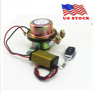 12v Car Remote Control Battery Switch Disconnect Anti theft Power Master Kill Us