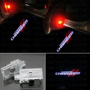 2x Cree Led Logo Door Step Courtesy Shadow Laser Light For Dodge Charger 06 2020