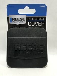 Reese Rubber Trailer Hitch Tow Plug Cover Fits 2 Receiver