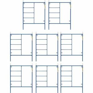 Metaltech M mf7660psk8 Saferstack 6 4ft X 5ft Mason Frame Kit 8pack