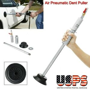 Air Pneumatic Dent Puller Car Body Repair Suction Cup Slide Tool Hammer Kit Usps