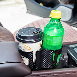 Universal Car Seat Cup 2 Holder Drink Beverage Coffee Auto Truck Bottle Mount