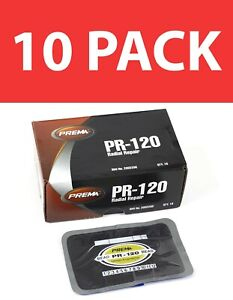 Prema Pr 120 5 X 3 1 4 2 Ply Radial Tire Repair 10 Pack New Free Shipping Usa