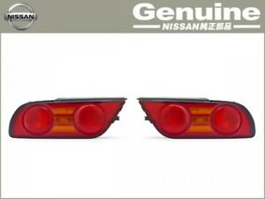 Jdm New Genuine Nissan Silvia Kouki 180sx 240sx S13 Taillights Leftandright Set