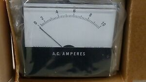 Very Nice Large Honeywell Mode A 10270 0 10 Amp Ac Panel Meter New In Box