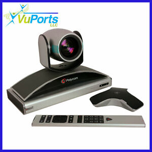 Polycom Realpresence Group 300 1080 Dual Display Ee Iii Camera 6 2 Rev