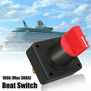 300a Battery Isolator Cles Disconnect Switch For Marine Boat Car Rv Atv