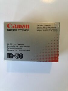 Canon Electronic Typewriter Ink Ribbon Cassette Ir 50 Pack Of 3