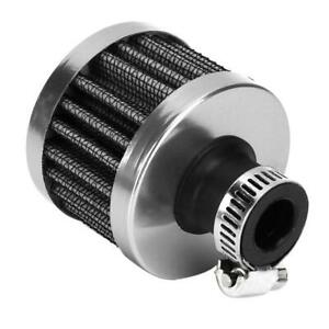 25mm 1in Mini Air Intake Filter Vent Crankcase Breather Universal Car Acces