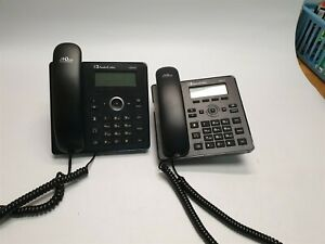 Lot Of 2 Audiocodes 420hd Business Phone No Power Adapters