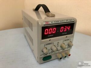 Gps 1850d Mastech Variable Single Channel Linear Dc Power Supply 20v 5a 90w