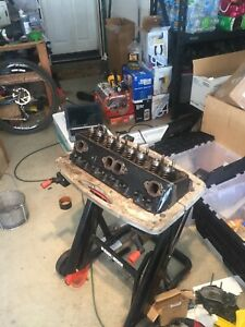 Oem Cleaned Painted 1990 1995 Sbc 350 Tbi Cylinder Head Pulled Off Running Car