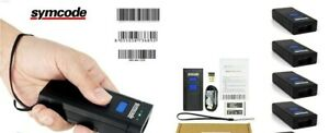 4 Portable Laser Wireless Bluetooth Barcode Scanners Mj 2877 By Symcode