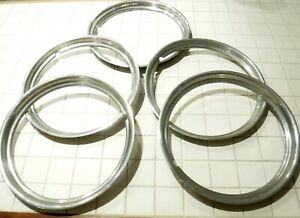 Lot Of 5 1948 1951 Willy S Jeepster 15 Original Beauty Rims Rings