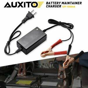Battery Charger For Car Motorcycle Auto Float Trickle Maintainer 1 5a 12v
