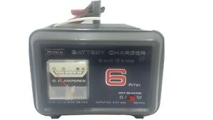 Vintage Sears Battery Charger 6 12 Volt 6 Amp 608 71515 priority Shipping