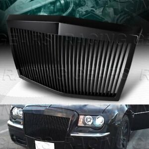 Black Rolls Royce Phantom Style Front Grille Grill Fit 05 10 Chrysler 300 300c