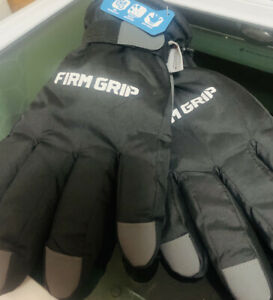 Firm Grip Tough Working Gloves 40g Thinsulate Hans Size Large Performance Fit
