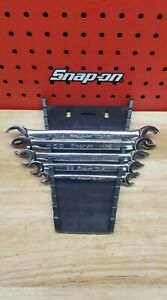Snap on Rxfs605b 5pc 6 point Sae Double End Flare Nut Wrench Set 1 4 13 16