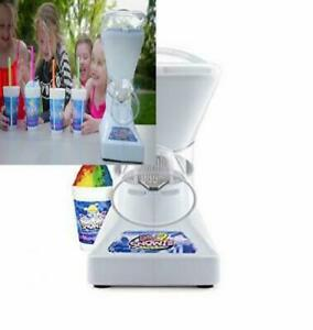 Little Snowie 2 Snow Cone Machine Premium Shaved Ice Maker 6 Stick Kit