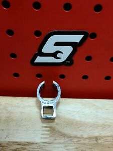 Snap On 3 8 Drive 17mm Metric Deep 12 Pt Flare Nut Crowfoot Wrench Ships Free