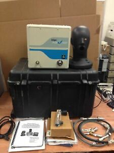Drager Positest Biosystems Posichek 3 Scba Testing System For Masks W cables cas
