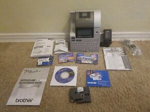 Brother P touch Pt 2710 Thermal Label Printer W Case Power Supply