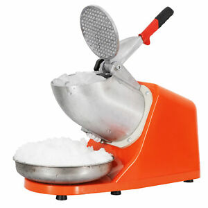 Ice Crusher Machine 300w Electric Shaver Shaved Icee Snow Cone Maker 143 Lbs New