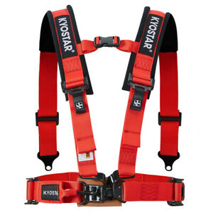 Universal 2 4 point Latch link Safety Harness Seat Belt With Soft Shoulder Pad