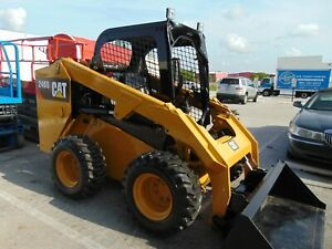 2018 Cat 246d Turbo 74 Hp Tier Iv Self Leveling Bucket New Tires