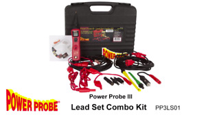 Power Probe Tek Pp3ls01 3 Iii With Lead Set Gold Series New Free Shipping Usa