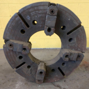 28 Summit 4 Jaw With 12 5 Hollow Spindle Lathe Chuck Ybm 12930