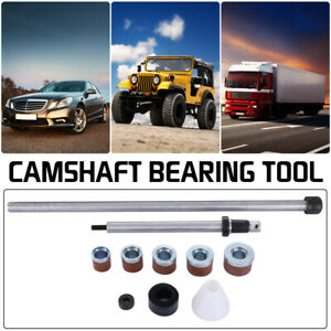 Universal Camshaft Bearing Tool Installation Removal Kit 1 125in 2 69in Silver