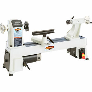Shop Fox 12in X 18in Variable Speed Benchtop Wood Lathe Model W1856