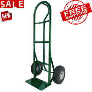 Hand Truck Dolly Cart Trolley Aluminum Wheels Heavy Duty Carrier Luggage Loading