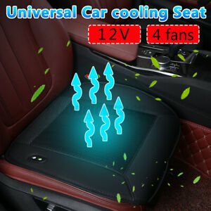 Cooling Car Front Seat Cushion Cover Air Ventilated Fan Conditioned Cooler Pad