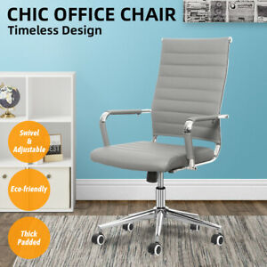Computer Desk Home Office Executive Task Swivel Adjustable Chair Fast Delivery