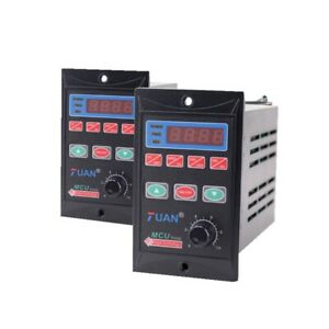 1hp Vfd 3 Phase Output 110 220v Ac110 220v 750w Single Phase Frequency Converter