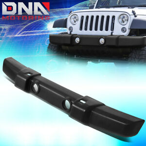 For 2007 2018 Jeep Wrangler Factory Style Front Center Lower Bumper Impact Bar
