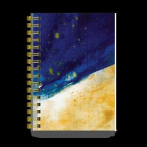Cal 2021 Gold And Blue Splash Academic Planner english Desk Book Free Shippin