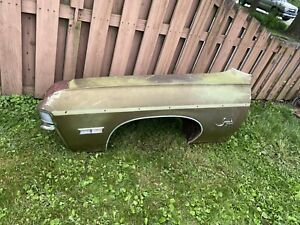 1968 Chevy Impala Drivers Front Fender