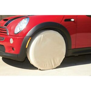 Heavy Canvas Tire Cover Wheel Masker 4pc Set For Storage And Auto Paint Masking