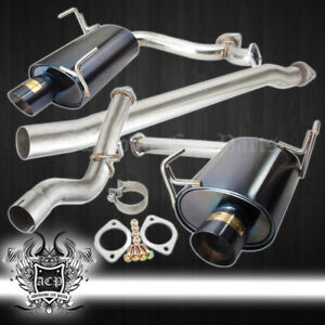 For 2008 2009 2010 2011 2012 2013 2014 Impreza Wrx 4 Muffler Gunmetal Tip Set